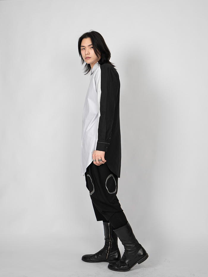 Two-tone long Shirts