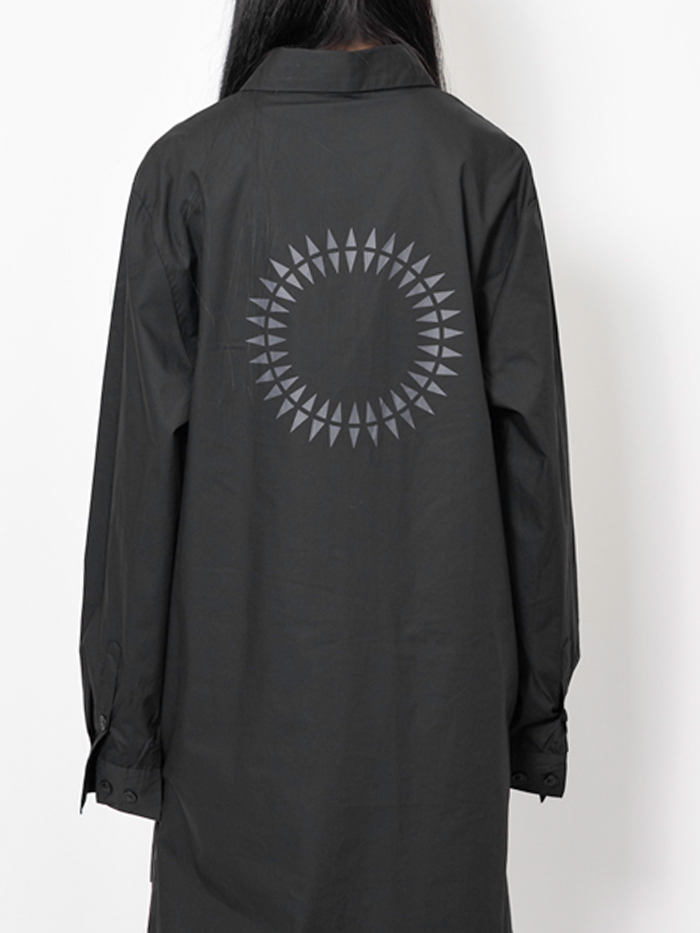 [UNISEX] Sun mood long Shirt