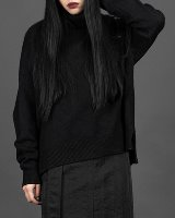 Short turtleneck Knit