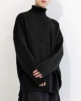 Over turtleneck Knit