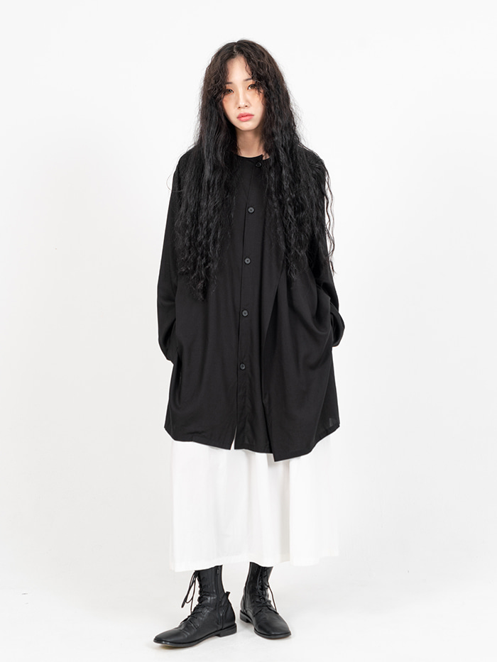 [UNISEX] Layona Button Blouse